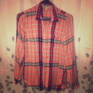 Lucky Brand Button-Down Flannel